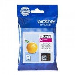Cartucho de tinta magenta brother lc3211m - 200 páginas - compatible según especificaciones