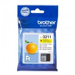 Cartucho de tinta amarillo brother lc3211y - 200 páginas - compatible según especificaciones