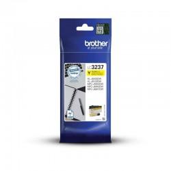 Cartucho de tinta amarillo brother lc3237y - 1500 páginas - compatible según especificaciones