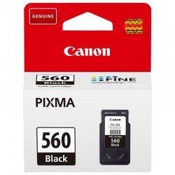 Cartucho de tinta negro canon pg-560 - 180 páginas - compatible según especificaciones