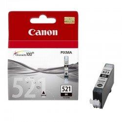Cartucho de tinta negra fotográfico canon cli-521bk - compatible segun especificaciones