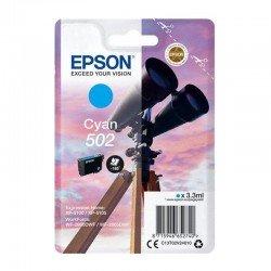 Cartucho tinta cian epson 502 - 3.3ml - binoculares - compatible segun especificaciones