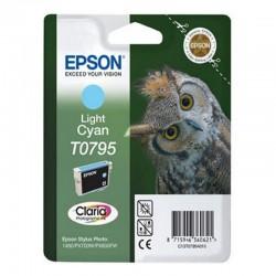 Cartucho epson t0795 11.1ml cian claro - búho