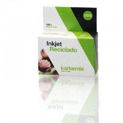 Cartucho de tinta karkemis reciclado brother lc980bk/lc1100bk - negro-  12ml - compatible según especificaciones