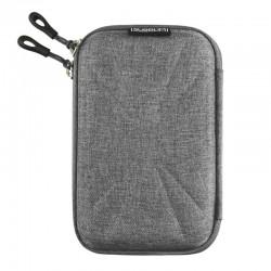 Funda subblim hdd business grey para disco de 2.5'/6.35cm - exterior rígido - interior acolchado - bandas elásticas