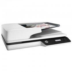 Escáner documental hp scanjet pro 3500 f1 - 25ppm/50ipm - duplex - 1200ppp - alimentador automático 50 hojas - usb 3.0