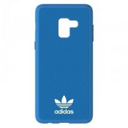 Carcasa adidas original basics azul compatible con samsung galaxy a8