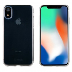Funda cristal soft transparente ultra fina muvit mucsl0045 para apple iphone xr