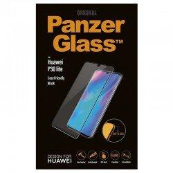 Protector de pantalla panzerglass 5335 para huawei p30 lite negro - cristal templado - borde a borde