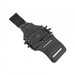 Brazalete deportivo muvit active maarm0002 negro - compatible con smartphones de 4/6' (10.16/15.24cm) - ranura para guardar