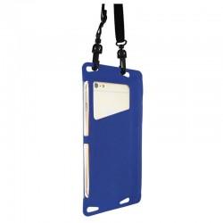 Funda acuática muvit trendy muwpc0014 azul - universal hasta 5.5'/13.9cm - ipx8 - bolsillo interior - ventana transparente