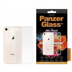 Carcasa transparente panzerglass 0192 para iphone 7/8 - acceso a todas las funciones - compatible con carga inalámbrica