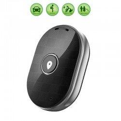 Localizador gps leotec smart tracker anti-perdida negro - botón sos - llamadas bidireccionales - zona seguridad - bat. 400mah -