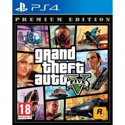 Juego para consola sony ps4 grand theft auto v premium edition