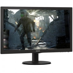 Monitor lcd philips 223v5lsb 21.5' / 54.6cm 16:9 fullhd 5ms 200cd/m2 10m:1 negro