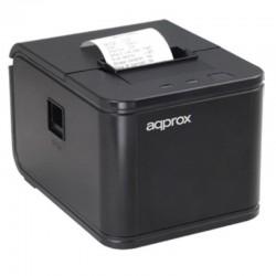 Impresora de tickets térmica approx apppos58au - 120mm/s - papel 58mm - corte automático - usb - rj11 para cajón portamonedas