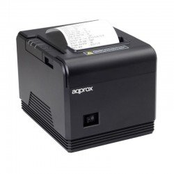 Impresora de tickets térmica approx apppos80am - 200mm/s - papel 80mm - corte automático y manual - usb / rs232 / rj11