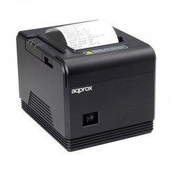 Impresora de tickets térmica approx apppos80am3 - 200mm/s - papel 80mm - corte automático y manual - usb / lan / rs232 / rj11
