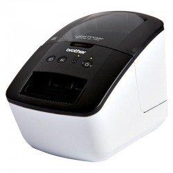 Impresora de etiquetas térmica brother ql-700 - 93 etiquetas/minuto - ancho máximo etiqueta 62mm - usb2.0 - software diseño