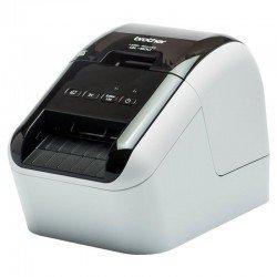 Impresora de etiquetas térmica brother ql-800 - impresión negro y rojo - 148mm/s - 300*600dpi - usb - ancho máximo etiqueta 62mm