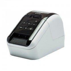Impresora de etiquetas térmica brother ql-810w - impresión negro y rojo - wifi - 176mm/s - software diseño etiquetas p-touch
