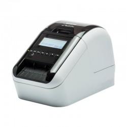 Impresora de etiquetas térmica brother ql-820nwb - impresión negro/rojo - 176mm/s - anchura max. etiqueta 62mm -