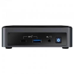 Mini pc intel bxnuc10i3fnk2 - i3-10110u 2.1ghz - no ram - no hdd (ssd m.2) - uhd graphics - lan - wifi - bt - hdmi - no s.o.