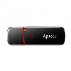 Pendrive apacer ah333 32gb mysterious black - usb 2.0 - compatible windows/mac/linux
