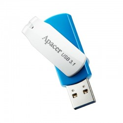 Pendrive apacer ah357 32gb ocean blue - usb 3.1 - compatible windows/mac/linux