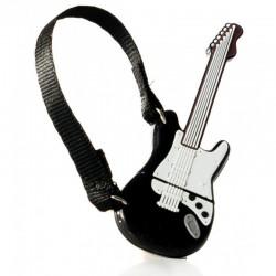Pendrive tech one tech guitarra black and white one 32gb - usb 2.0