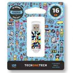 Pendrive tech one tech kaleydos 16gb usb 2.0