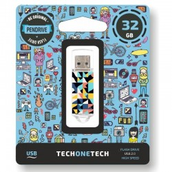 Pendrive tech one tech kaleydos 32gb usb 2.0