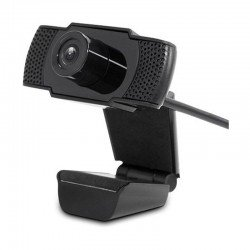 Webcam leotec meeting fhd 1080p - sensor imagen 2mp - 1920*1080 - 30fps - micrófono integrado - campo visual 90º - cable usb