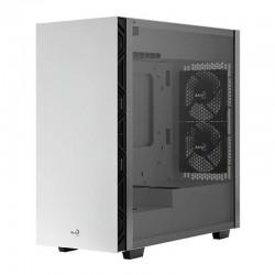Caja semitorre aerocool flo white - 2*usb 3.0 / 2*usb 2.0 - hd audio y mic - panel lateral cristal templado - vga max. 321mm -