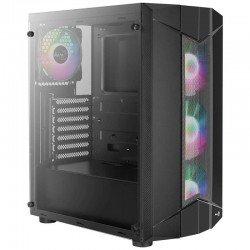 Caja semitorre aerocool sentinel - usb 3.0/2*usb 2.0 - hd audio+mic - soporta refrigeración líquida - atx/micro-atx/mini-itx