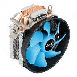 Disipador aerocool verkho 3 plus - aluminio - ventilador 12cm - sockets compatibles según especificaciones