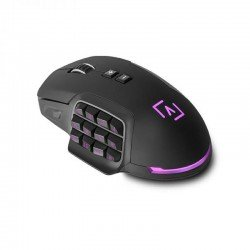 Ratón gaming aim aimm - 10000 dpi - botonera lateral personalizable - pesos extraibles - iluminación rgb - software de control