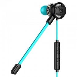 Auricular gaming hiditec taiko - 4*altavoz ø7mm - 16 ohm - sonido dual driver - micrófono integrado - func. responder/detener