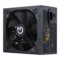 Fuente de alimentación gaming hiditec bz550 - 550w - ventilador 140mm - pfc activo - cable mallado seguridad - eficiencia
