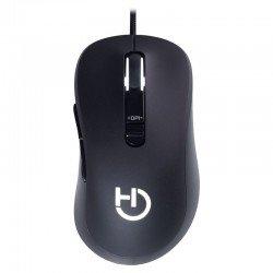 Ratón gaming hiditec blitz - sensor infrarrojos - 1000-3500dpi - 7 botones programables - 80ips - iluminación logo y rueda