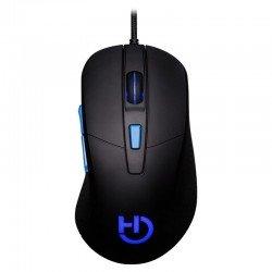 Ratón hiditec gaming esus - sensor avago a5050 - 800-2800dpi - iluminación 6 colores - acel. max. 8g - ergonómico - usb