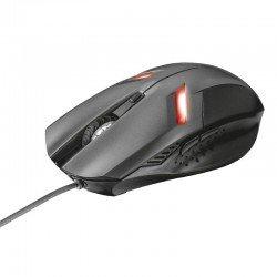 Ratón trust ziva gaming - selección velocidad 800-2000ppp - 6 botones - iluminación led - usb