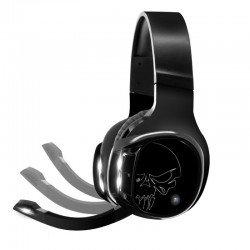 Auriculares con micrófono spirit of gamer xpert h1100 - sonido virtual 7.1 - drivers 50mm - rf 2.4ghz - retroiluminacion led
