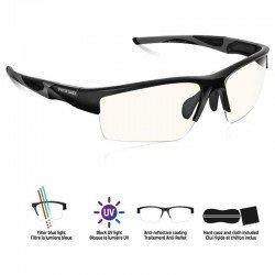 Gafas spirit of gamer pro retina - anti reflejos - filtro luz azul - unisex