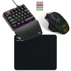 Combo teclado y raton gaming spirit of gamer xpert-g700 para consolas y pc - 35 teclas switches mecánicos - raton xpert-g700