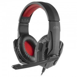 Auriculares diadema con micrófono mars gaming mh020 - drivers 40mm - micrófono plegable - conector jack 3.5mm - cable 200cm -