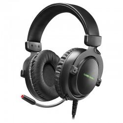 Auricular diadema con micrófono mars gaming mh4x - sonido posicional 7.1 - tecnología sensus - iluminación rgb - cable usb 2m