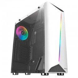 Caja semitorre mars gaming mcxw - longitud max vga 300mm - 1*usb3.0 - 2*usb2.0 - audio/mic - ventanas y frontal cristal