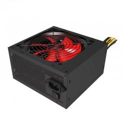 Fuente de alimentación atx mars gaming 550w - ventilador 12cm - 14db - rojo/negro