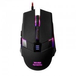 Ratón mars gaming mm116 - sensor óptico profesional 3200dpi - cambio alta velocidad on-the-fly - 6 b